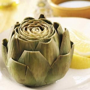 Artichokes with Tarragon Butter Recipe