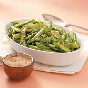 Sugar Snap Pea Stir-Fry