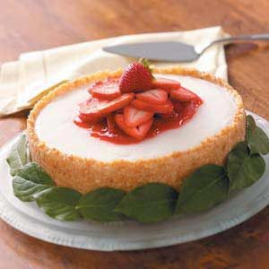 Almond-Lemon Torte With Fresh Strawberry Puree Recipes — Dishmaps