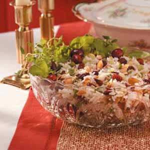 Cranberry Rice Salad