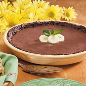 Banana Chocolate Coconut Pie Recipe