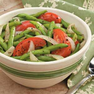 Greek-Style Green Beans Recipe