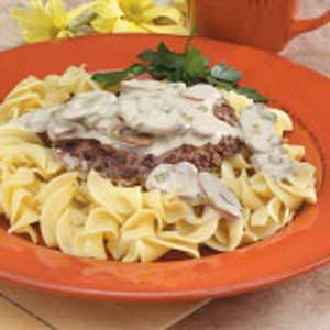Cubed Steak Stroganoff