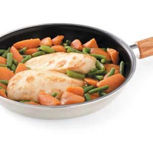 Skillet Chicken 'n' Veggies Recipe