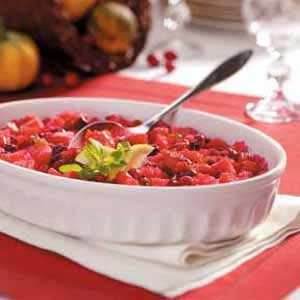 Scalloped Cranberries Recipe