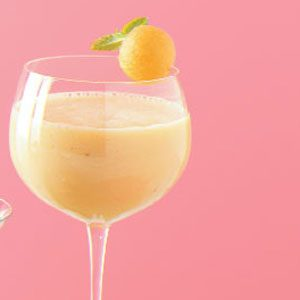 Cantaloupe Banana Smoothies Recipe