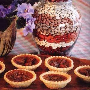 Mary's Bean Tarts Recipe