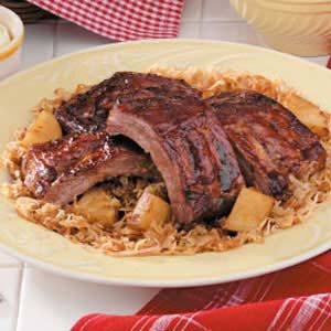 Old-Country Sauerkraut 'N' Ribs Recipe