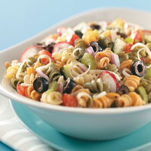 Veggie Spiral Salad Recipe
