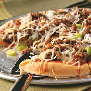Sausage Pizza Recipe