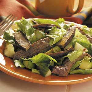 Spicy Teriyaki Beef Salad Recipe