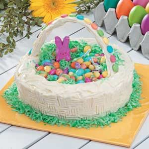 Easter Basket Candy Cake Recipe