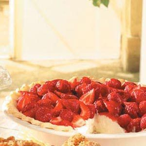 Berry Cream Pie Recipe