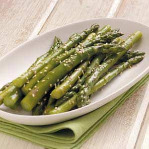 Asparagus with Sesame Seeds Recipe