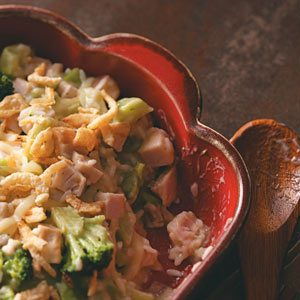 Broccoli Turkey Casserole Recipe