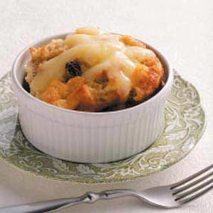Grandmother's Bread Pudding with Lemon Sauce Recipe