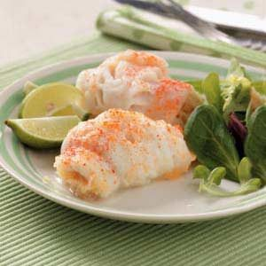 Stuffed Sole with Shrimp