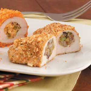 Mushroom-Stuffed Chicken Breasts Recipe