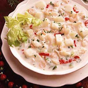 New England Seafood Chowder