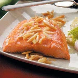Nutty Salmon Recipe