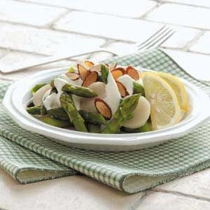 Asparagus with Lemon Sauce Recipe