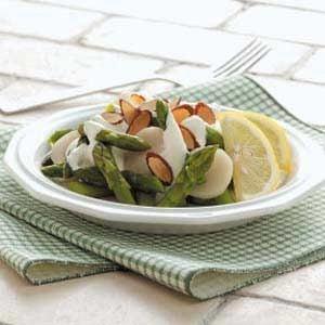 Asparagus with Lemon Sauce Recipe