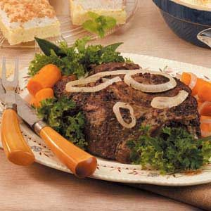 Caraway Pot Roast Recipe