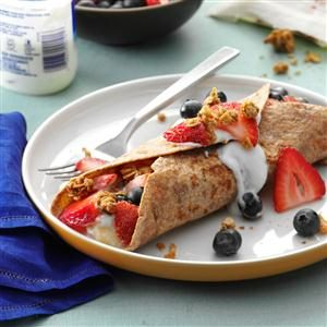 Fruit-Filled French Toast Wraps Recipe