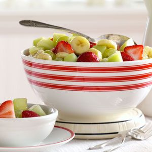 Glazed Fruit Medley Recipe
