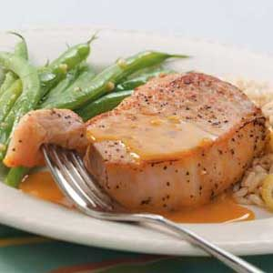 Citrus Pork Chops Recipe