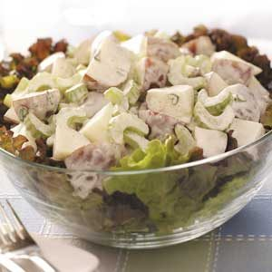 Tangy Potato Salad with Horseradish Recipe