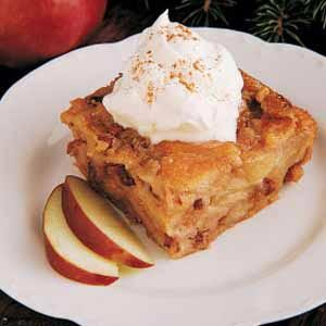 Fruit and Nut Bread Pudding