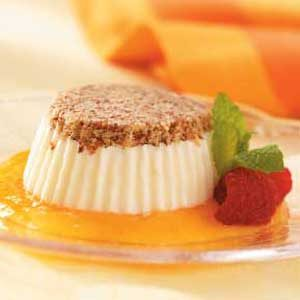 Frozen Almond-Cream Desserts Recipe