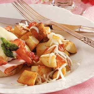 Mozzarella Potato Skillet Recipe