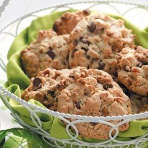 Pecan Double-Chip Cookies Recipe