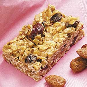 Sunflower-Cherry Granola Bars Recipe