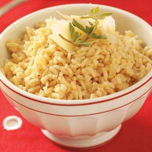Parmesan Rice Pilaf Recipe