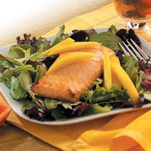 Ginger Salmon Salad Recipe