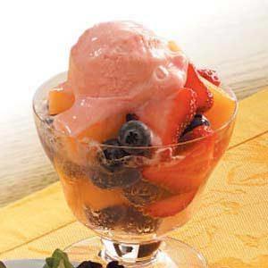 Sparkling Fresh Fruit Recipe