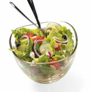 Navy Bean Tossed Salad Recipe