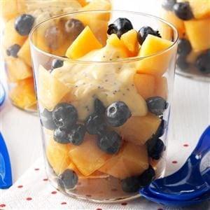 Blueberry Cantaloupe Salad Recipe