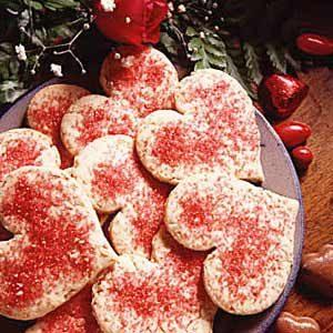 Oatmeal Valentine Cookies Recipe