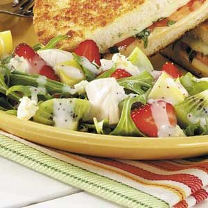 Strawberry Kiwi Chicken Salad