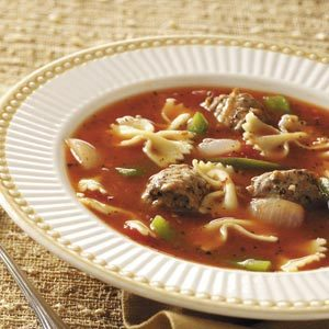Pasta/Sausage Soup Recipe
