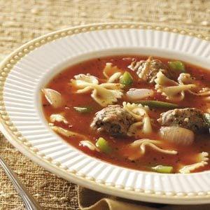 Pasta/Sausage Soup Recipe