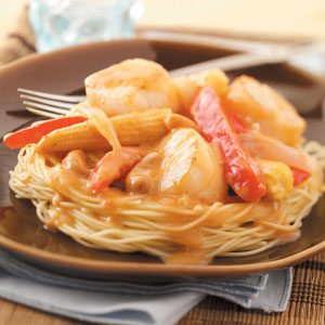 Scallops with Thai Sauce Recipe
