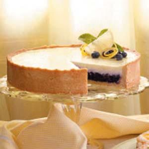 Blueberry Sour Cream Torte