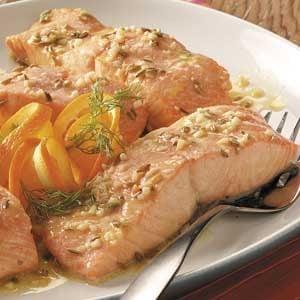 Savory Orange Salmon Recipe