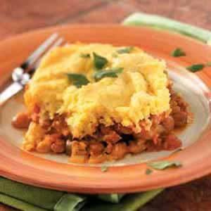 Tamale Veggie Pie Recipe