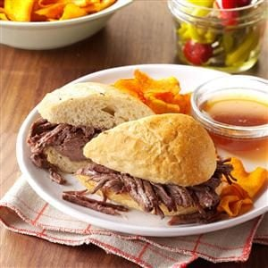 French Dip Sandwiches Recipe